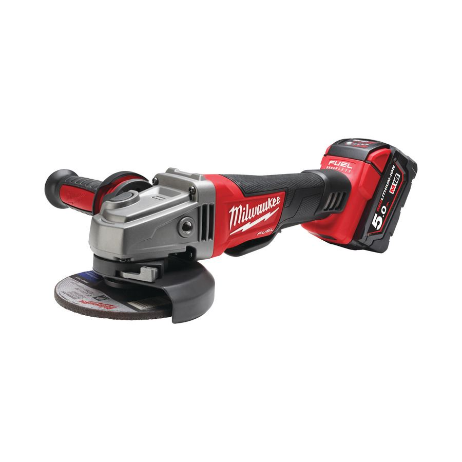Milwaukee M18 FUEL™ 125 mm úhlová Bruska